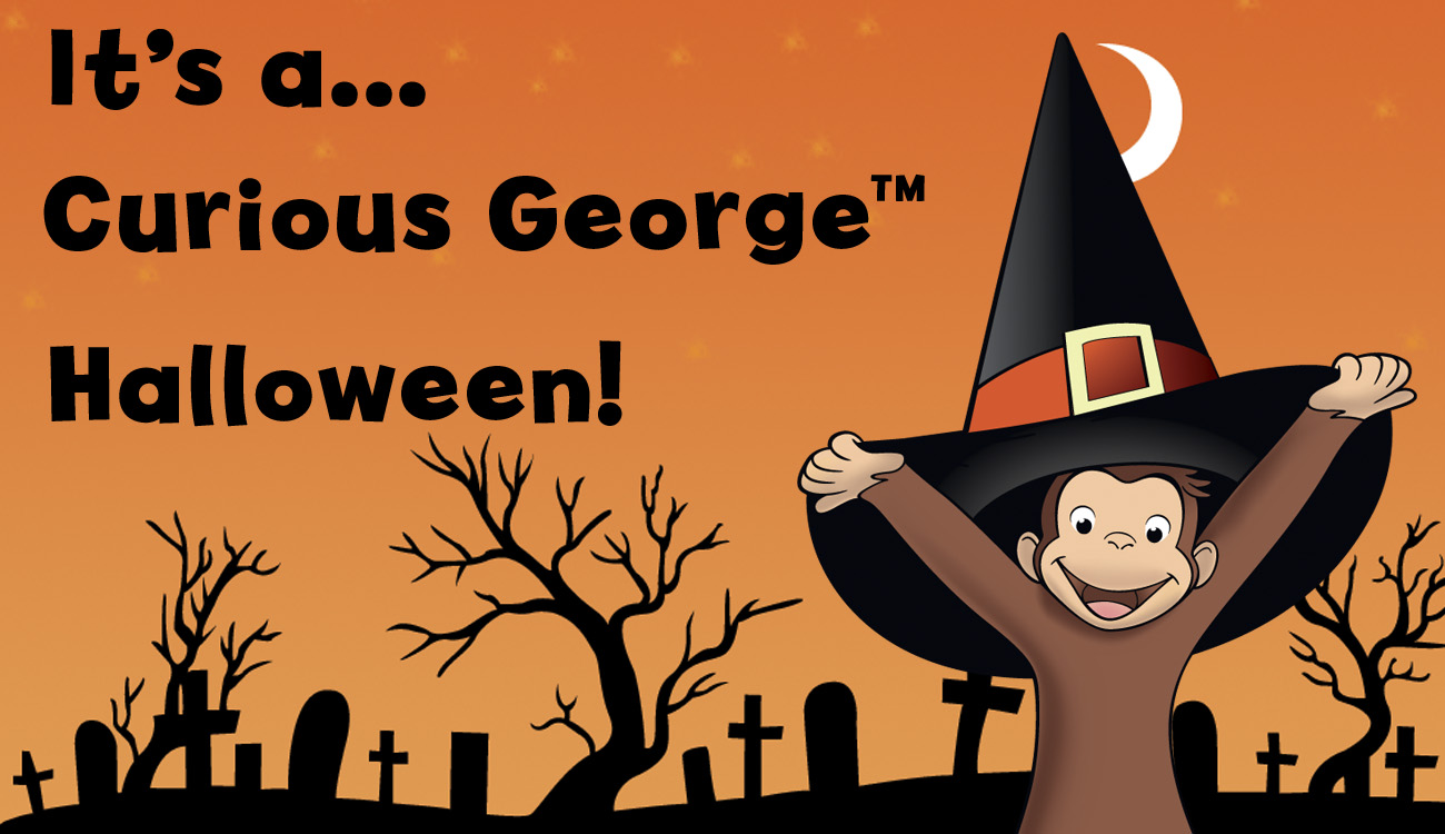its a curious george halloween