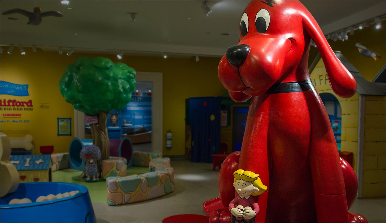 Adventures With Clifford The Big Red Dog Reading Public