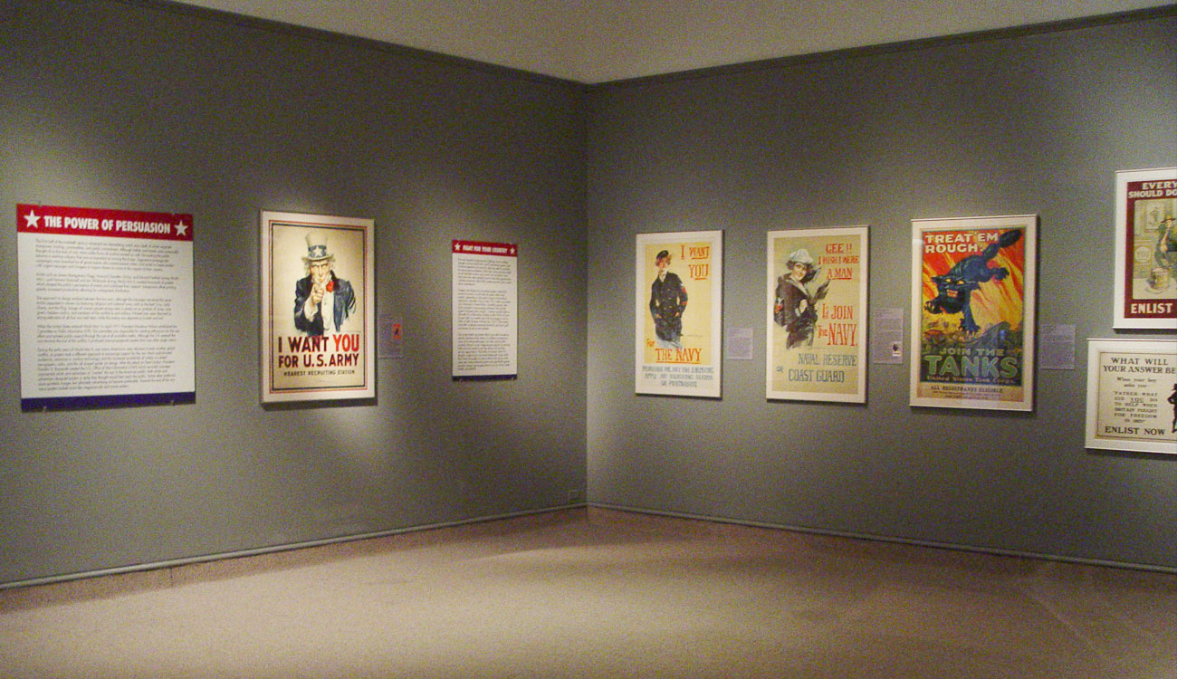 Call To Duty World War Posters Reading Public Museum - Christian museums in the usa